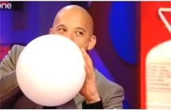 helium belélegzese