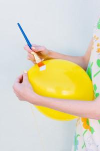 héliumos játékok gyerekzsúrra lufifestés